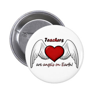 Teachers Angels 6 Cm Round Badge