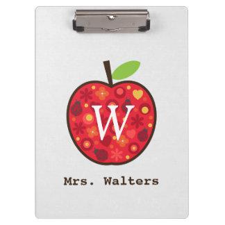 Teacher's Apple Clipboard