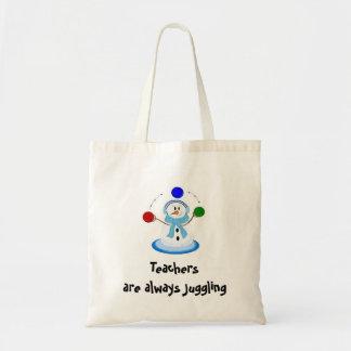 Teachers are always Juggling Tote Bag