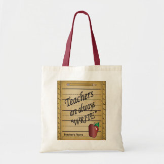 Teachers are always Write | DIY Name