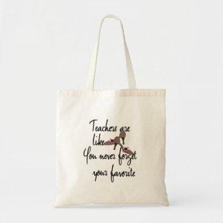 Teachers Are Like Shoes Favorite Teacher Tote Bag