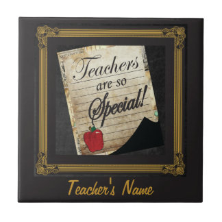 Teachers are so Special Tile