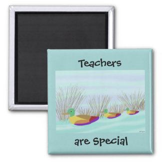 Teachers are Special Duck Magnet