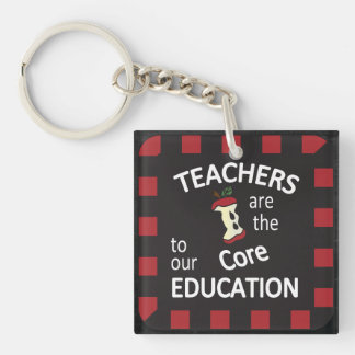 Teachers are the core to our Education Key Chain