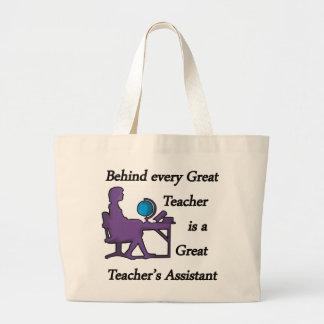 Teacher's Assistant Jumbo Tote Bag