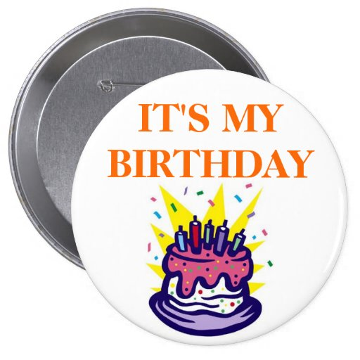 TEACHER's BIRTHDAY BUTTONS FOR STUDENTS