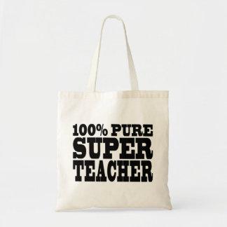 Teachers Birthday Parties 100% Pure Super Teacher Bag