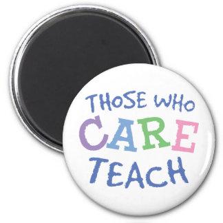 Teachers Care Magnet