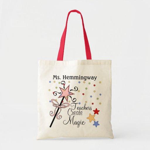 Teachers Create Magic by SRF Bag