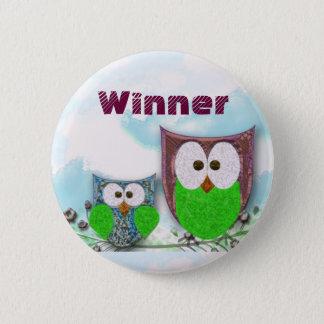 Teachers' customizable owl badge