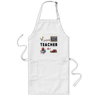 Teachers Do It With Class Long Apron