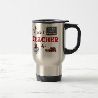 Teachers Do It With Class Stainless Steel Travel Mug