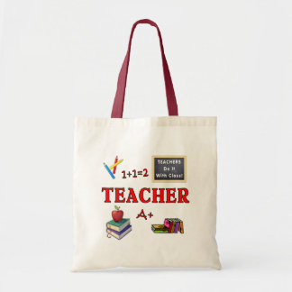 Teachers Do It With Class Tote Bag
