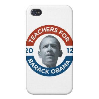 Teachers For Barack Obama Biden 2012 iPhone 4 Case