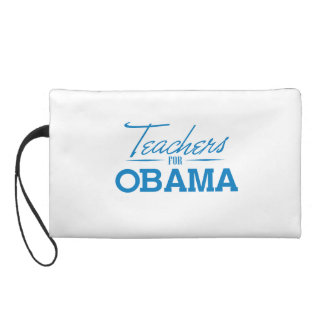 TEACHERS FOR OBAMA - png Wristlet Clutches