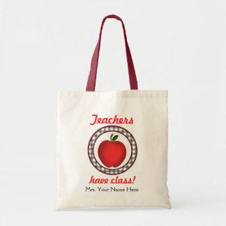 Teachers Have Class Apple Bag