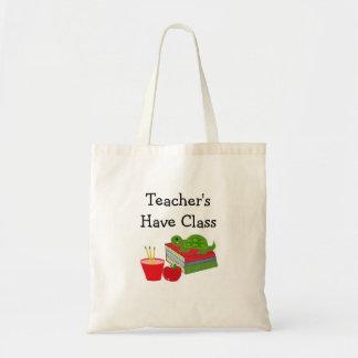 Teacher's Have Class Tote Bag