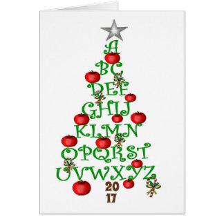 Teacher's Holiday Greeting Card