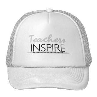 Teachers Inspire Tshirts and Gifts Hats