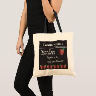 Teachers Inspires Us   DIY Name Tote Bag