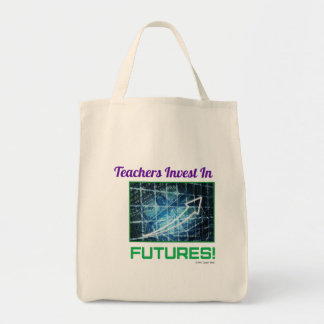 Teacher's Invest grocery tote