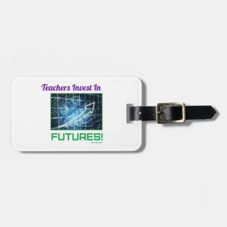 Teachers Invest Luggage Tag
