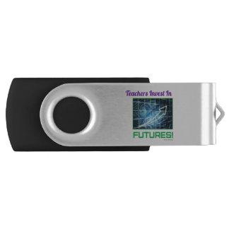 Teacher's Invest two tone USB USB Flash Drive