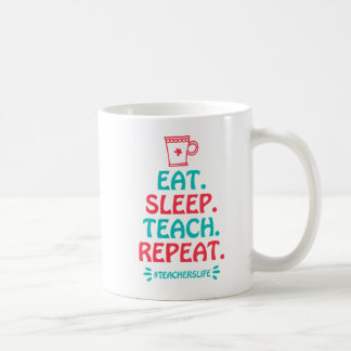 Teachers Life 11 oz Classic Mug