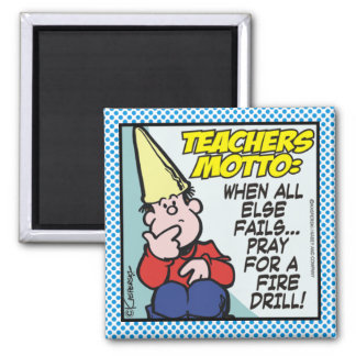 Teachers Motto Magnet