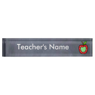 Teachers NamePlate Gift Personalized