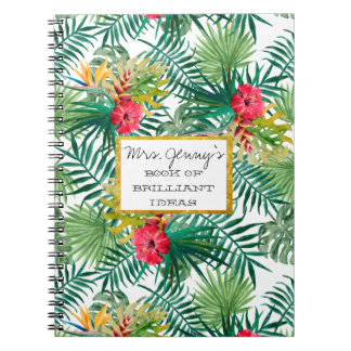 Teacher's Notebook - personalized - gift