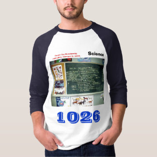 Teacher's Numbered Sports Jersey Darwin Day T-Shirt