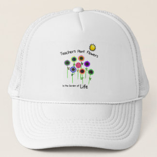 Teacher's Plant Flowers Cap