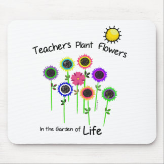 Teacher's Plant Flowers mousepad