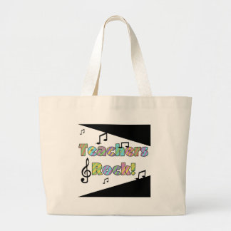 Teachers Rock Tshirts and Gifts Canvas Bag