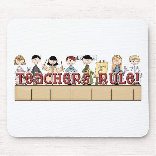 Teachers Rule! Mousepad