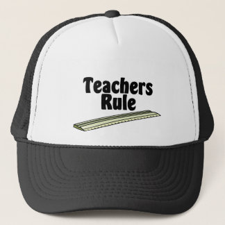 Teacher's Rule Trucker Hat
