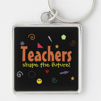 Teachers shape the future keychain