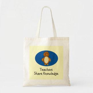 Teachers Share Knowledge Tote Bag