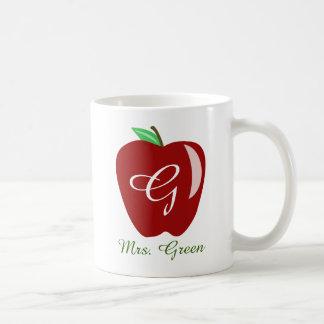 Teacher's Shiny Apple Mug