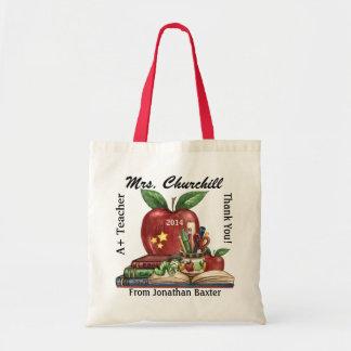 Teachers' Totes - Bookworm - SRF Budget Tote Bag