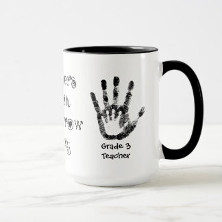 Teachers Touch Tomorrow Today -Personalised Cup