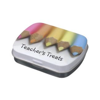Teacher's Treats - candy-filled tin Candy Tin
