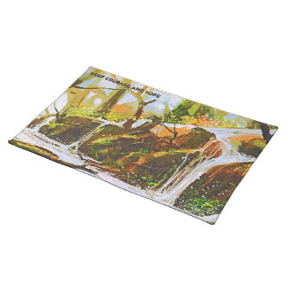 Teaches Me To Remain Stable In A Storm Lm Placemat