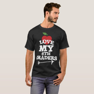 Teaching 6th Graders Is My Jam Cute Teacher T-Shirt