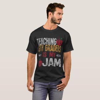 Teaching 6th Graders Is My Jam Teacher Distressed T-Shirt