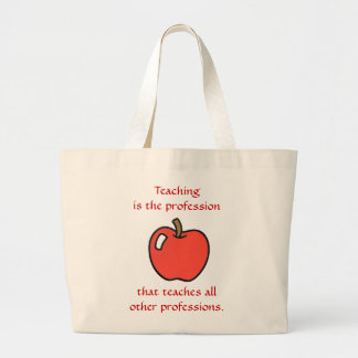 Teaching All Others Jumbo Tote Jumbo Tote Bag