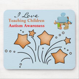 """""""Teaching"""" Autism Awareness Mousepad"""