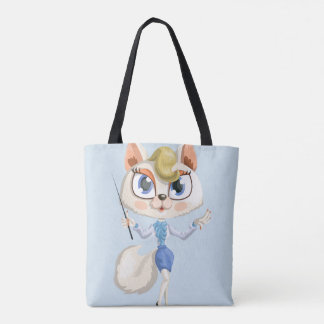 Teaching cat tote