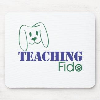 Teaching Fido Logo Wear Mousepad
